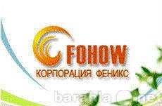 Вакансия: представитель корпорации Fohow
