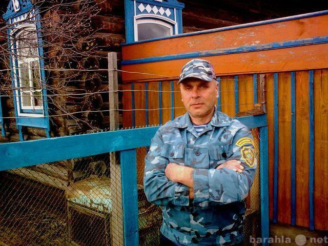 Работа сторожа-вахтера в свердловском районе красноярска