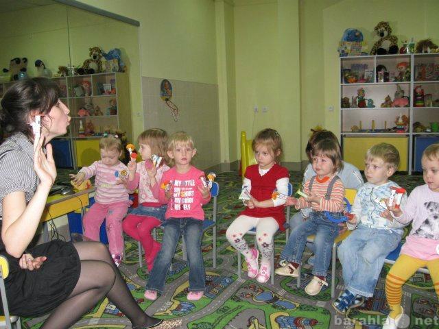 Вакансия: Муз. руководитель в детский разв.центр