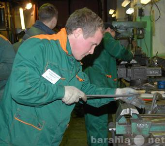 Вакансия: требуется слесарь на металлопроизводство