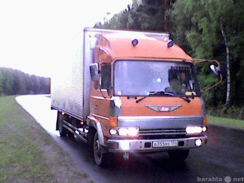 Ищу работу: Водитель с личным грузовым авто 5 т t+20